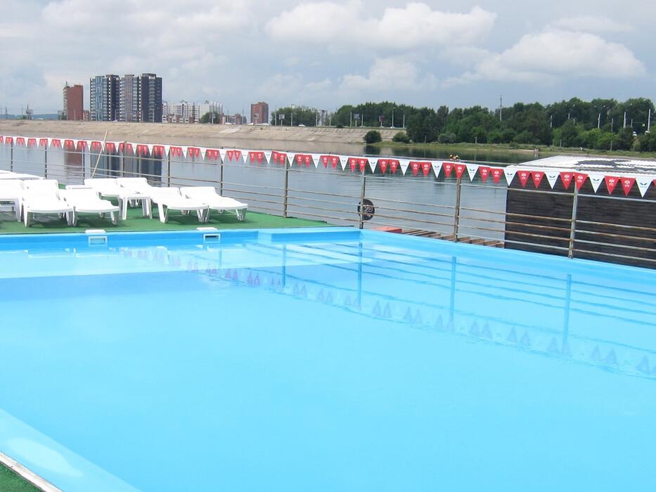 Летний бассейн в Солнечном Иркутска