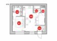 Коттеджный поселок «EcoVille» (Эковилле): Планировочные решения квартир квадрохауса площадью от 40 кв.м