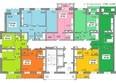 Жилой комплекс ЯКОБИ-ПАРК ж/к, 1 оч, б/с 1: Планировка 5-16 этажей