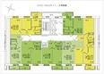 ИЗУМРУД ж/к, 2 оч, б/с 1, 2, 3, 4: Блок-секция 2-3. Планировка 2 этажа