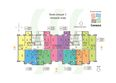 СИМВОЛ ж/к, 1 оч, б/с 1-4: Блок-секция 1. Планировка типового этажа