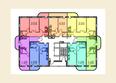 МОСТ ж/к: Планировка 8-16 этажей