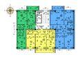 Жилой комплекс ВЫСОТА ж/к, 3 оч, б/с 11-12: Блок-секция 12. Планировка типового этажа