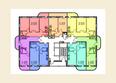 МОСТ ж/к: Планировка 2 этажа