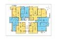 Сурикова, 10: Планировка 4-6 этажей