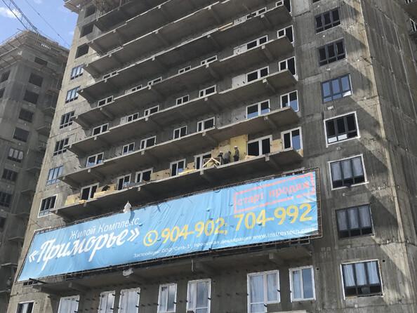 Фото новостроек ПРИМОРЬЕ ж/к, б/с 2, 10 июля 2017